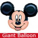 Giant Mickey Mouse Head Balloon