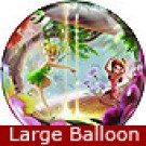 Large Tinker Bell and Fairy Friends Balloon