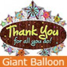 Large Thank You Marquee Balloon