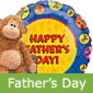 Father's Day Balloon and Monkey Gift Pack